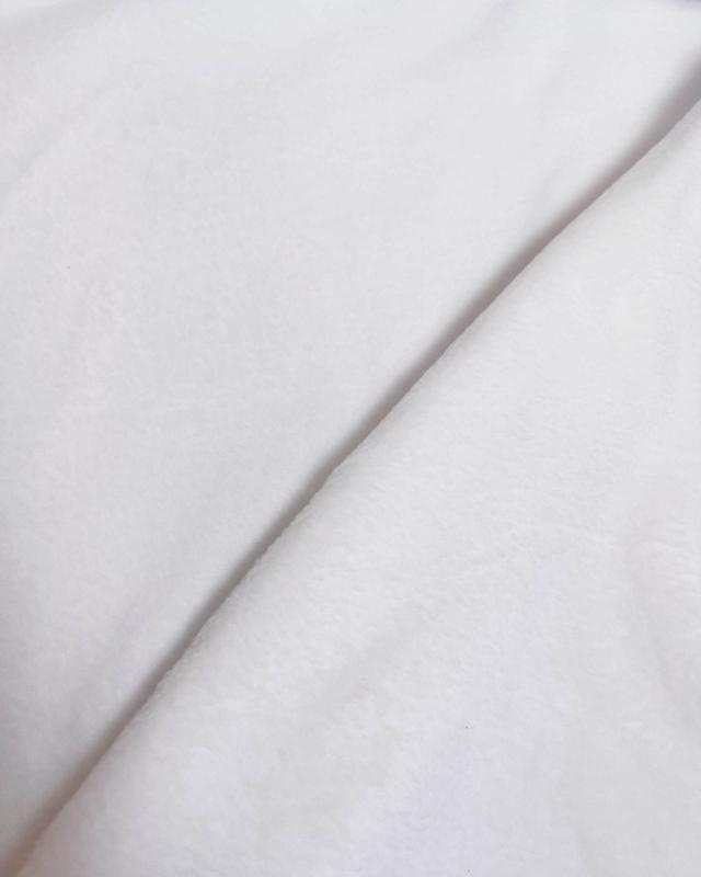 Polaire Blanc - Tissushop