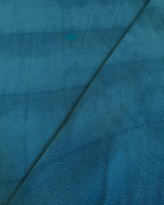 Polaire Bleu Canard - Tissushop