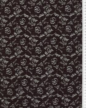 Maria cotton lace Black - Tissushop
