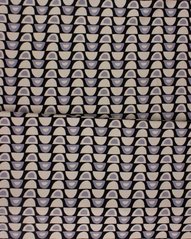 Half Moon Jersey Beige - Tissushop