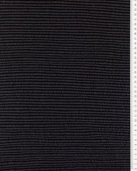 Structured Viscose Black - Tissushop