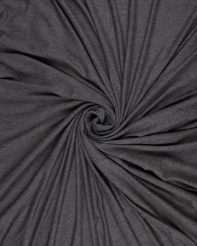 Plain viscose jersey Heather Dark Grey - Tissushop