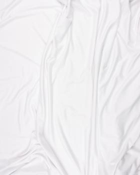 Plain viscose jersey White - Tissushop