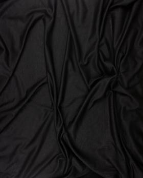 Jersey viscose uni Noir - Tissushop