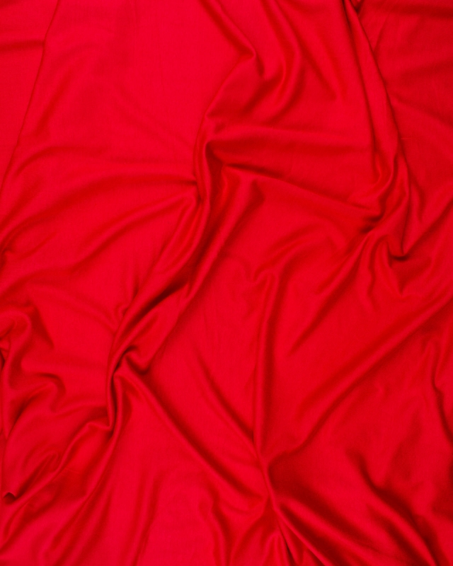 Plain viscose jersey Red - Tissushop