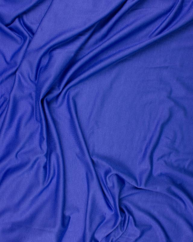 Plain viscose jersey Blue - Tissushop