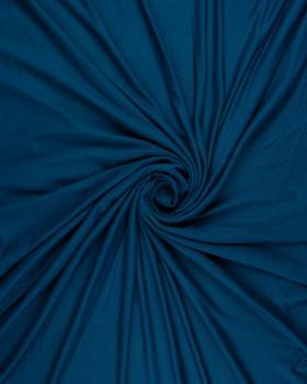 Jersey viscose uni Bleu Canard - Tissushop