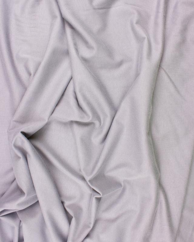 Plain viscose jersey Grey - Tissushop
