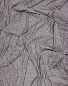 Plain viscose jersey Heather Grey - Tissushop