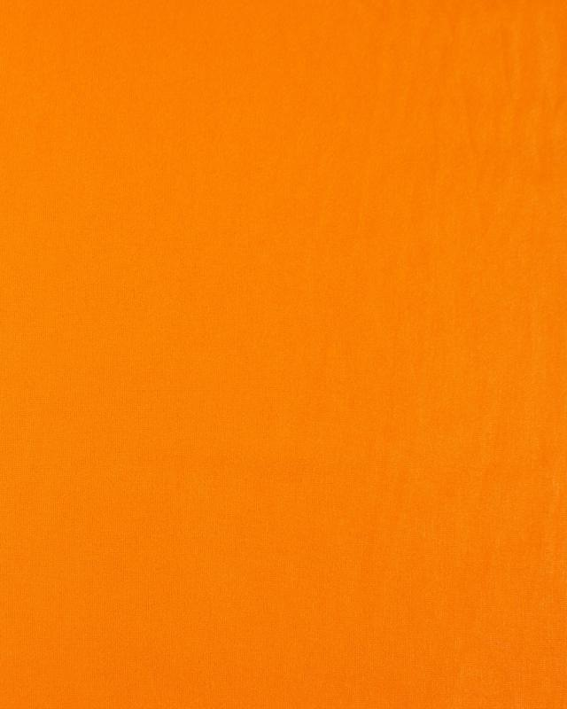 Jersey viscose uni Orange - Tissushop