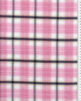Madras Crumpled Pink - Tissushop