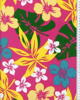 Polynesian Fabric HURA Pink - Tissushop