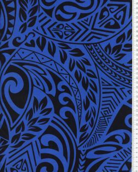 Polynesian Fabric MAUI Blue - Tissushop