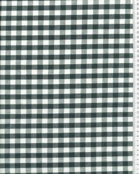 Vichy Cotton Large Check Green - Tissushop