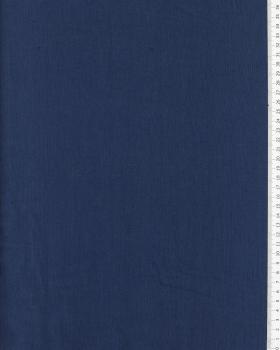 Toile de lin lavé en 300 cm Bleu Marine - Tissushop
