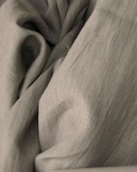 Washed linen fabric in 300 cm Nut-Brown - Tissushop
