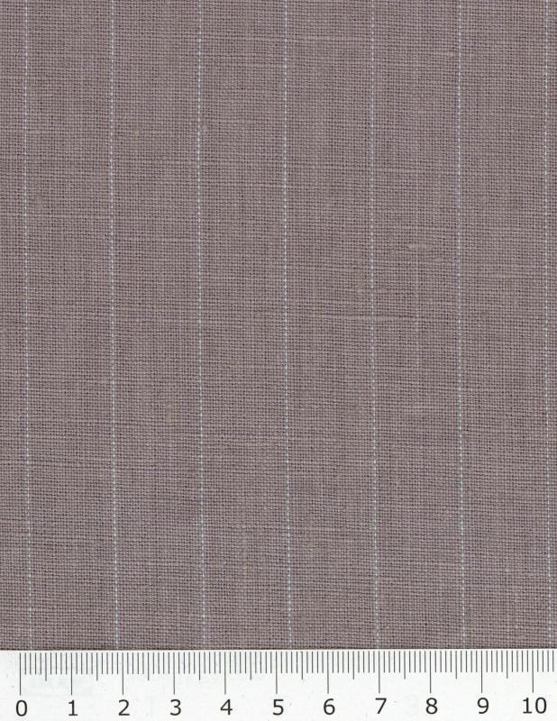Striped washed linen Grey - Tissushop