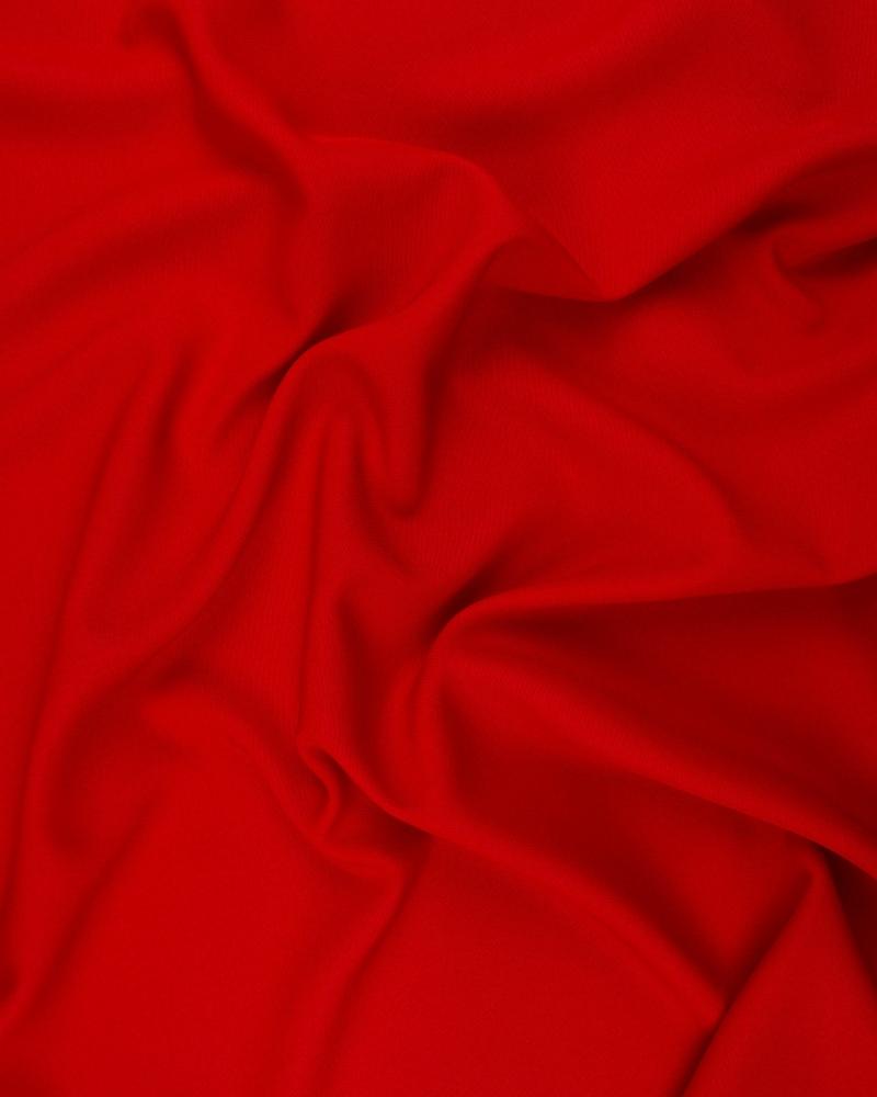 Burlington grande largeur non-feu Rouge - Tissushop