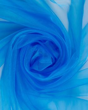 Organza large width Blue Lagon - Tissushop