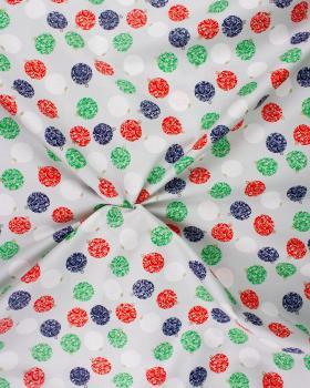 Cotton Christmas Ball Grey - Tissushop