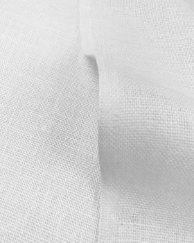 Toile de jute - 330 gr/m² - 260 cm - Blanc - Tissushop