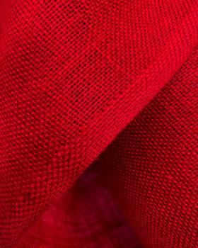 Jute cloth - 330 gr/m² - 260 cm - Red - Tissushop