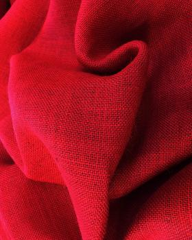 Jute cloth - 330 gr/m² - 260 cm - Red - Tissushop