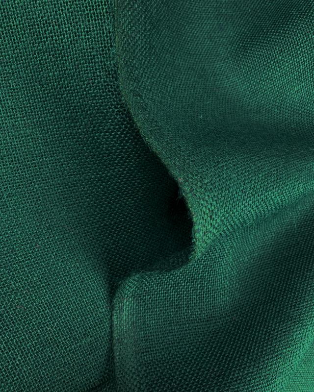Toile de jute - 330 gr/m² - 260 cm - Vert Sapin - Tissushop