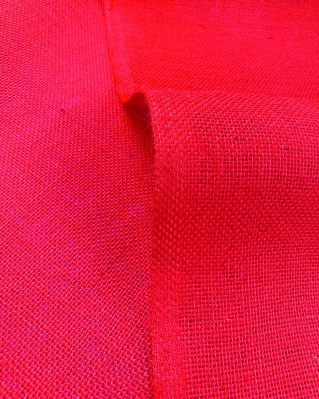 Jute cloth - 330 gr/m² - 260 cm - Fuchsia - Tissushop