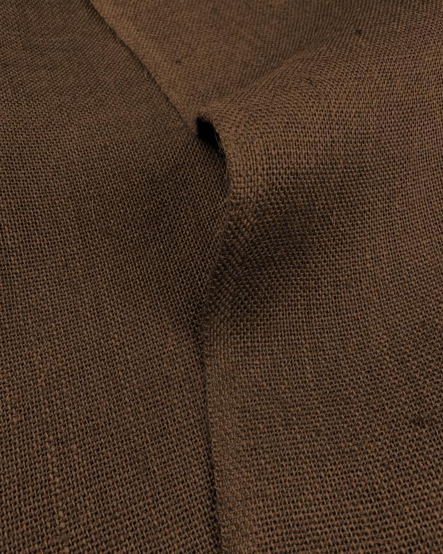 Jute cloth - 330 gr/m² - 260 cm - Brown - Tissushop