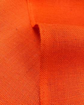 Toile de jute - 330 gr/m² - 260 cm - Orange - Tissushop