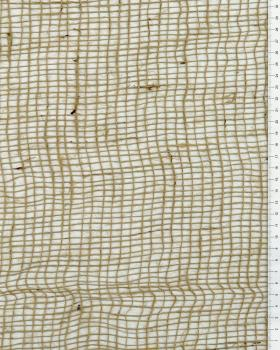 Toile de jute - 120 gr/m² - 213 cm - Naturel - Tissushop