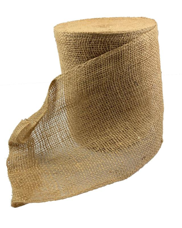 Burlap jute tape - 200 g/m² - 20 cm - Natural - Tissushop