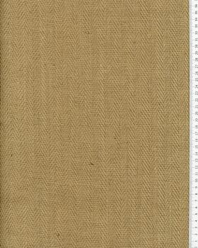 Jute herringbone - 600 gr/m² - 305 cm - Natural - Tissushop
