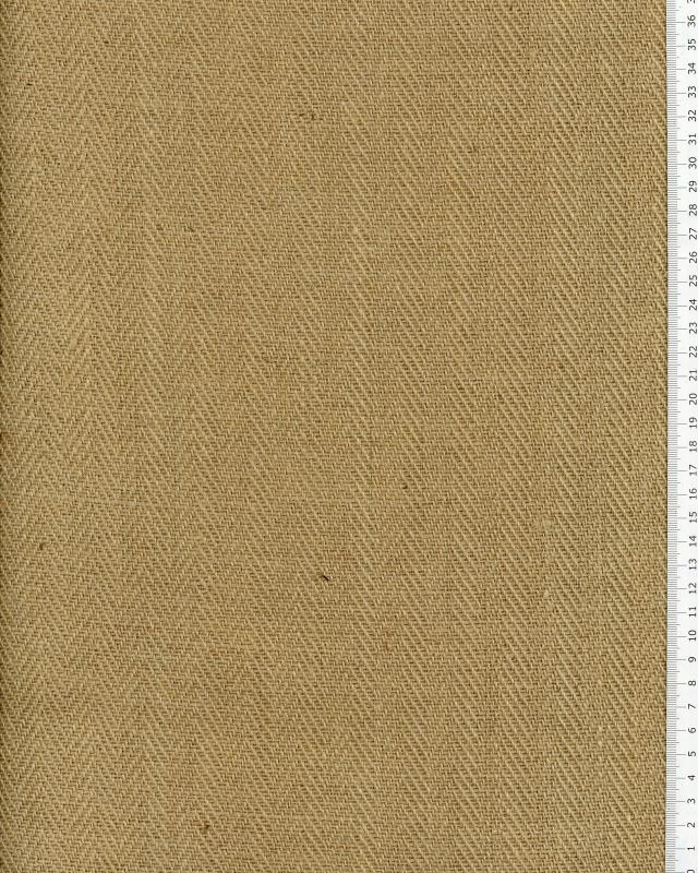 Chevron de jute - 600 gr/m² - 305 cm - Naturel - Tissushop