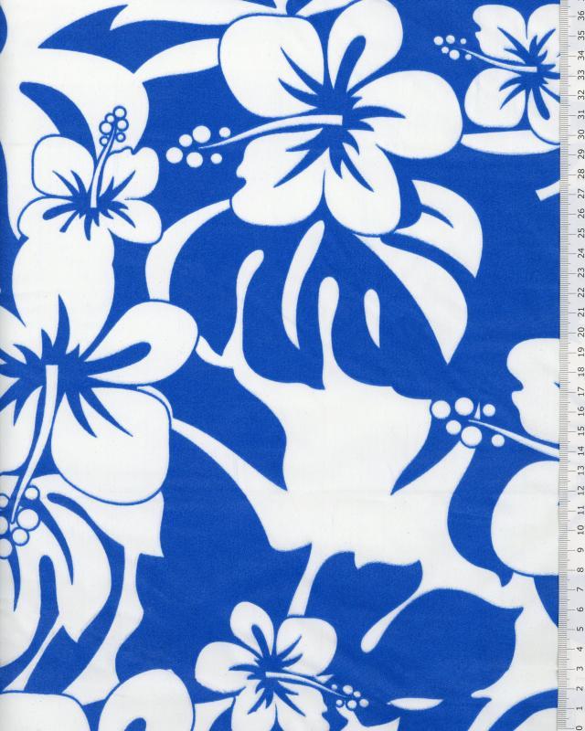 Polynesian Fabric URIMA Blue - Tissushop