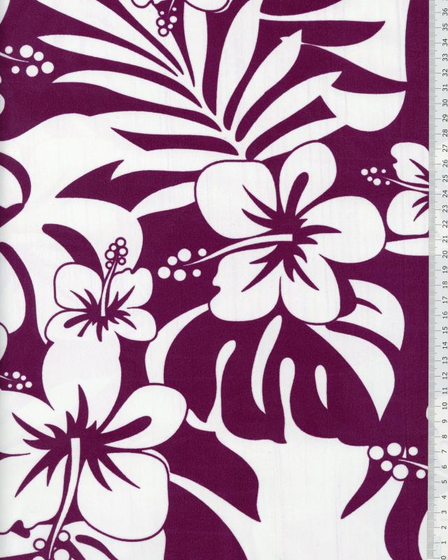 Polynesian Fabric URIMA Purple - Tissushop