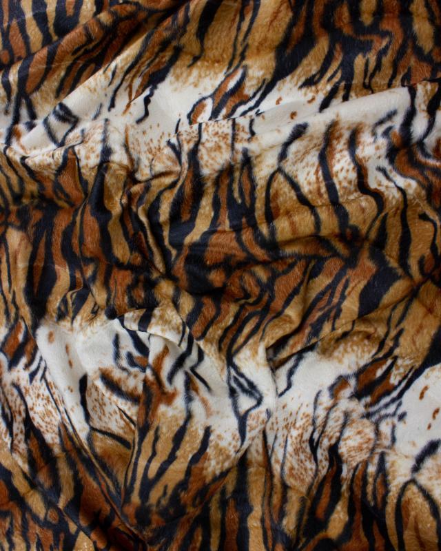 Fausse Fourrure Imitation Tigre - Tissushop