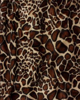Fausse Fourrure Imitation Girafe - Tissushop