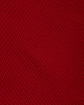 Quilted interlaced Bordeaux - Tissushop