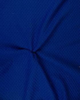Quilted interlaced Royal Blue - Tissushop