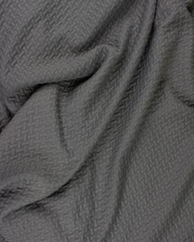 Quilted interlaced Grey - Tissushop
