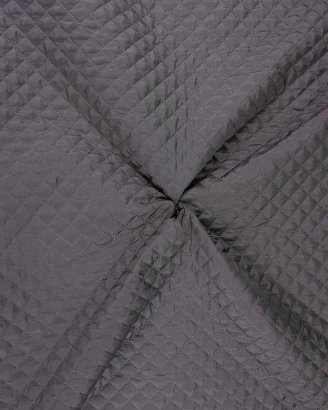 Double-sided quilted Taupe - Tissushop