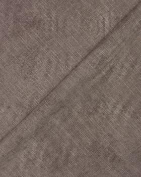 Tissu aspect velours Taupe - Tissushop