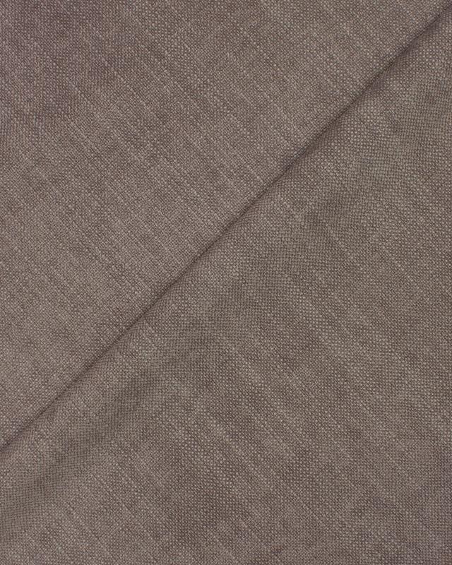 Velvet fabric Taupe - Tissushop