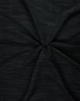 Tissu aspect velours Ardoise - Tissushop