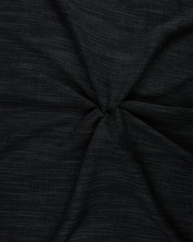 Tissu aspect velours Gris Anthracite - Tissushop