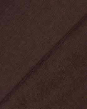 Toile velours grande largeur Chocolat - Tissushop