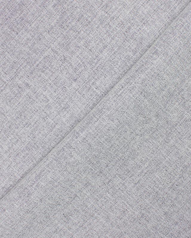 Toile velours grande largeur Gris Clair - Tissushop