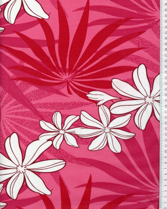 Polynesian Fabric MOENAU Pink - Tissushop